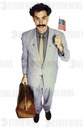 B-82A    Jagshemash!  Borat so excite to travel to U.S. and
