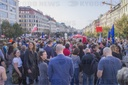March to Hradcanske Square, demonstration, Million Moments for Democracy
