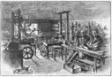 James Watt's workshop at Heathfield Hall, Birmingham, 1886.