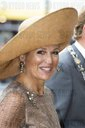 Queen Maxima talks with curcists Photo: Albert Ph van der Werf / Netherlands OUT / Point de Vue OUT