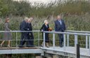 Princess Beatrix opens new visitor center Kinderdijk Photo: Albert Nieboer / Netherlands OUT / Poin