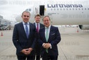 "Christening of a Lufthansa A321neo under the name ""Aachen"""
