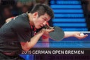 Table tennis German Open 2019.