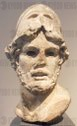 Marble head of a Greek General 53 A.