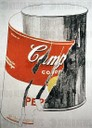 Andy Warhol (1928-1987). American artist. Pop Art. Big Torn Campbell's Soup Can (Pepper Pot), 1962. Acrylic. The Andy Warhol Mus