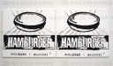 Andy Warhol (1928-1987). American artist. Pop Art. Hamburger, 1895-6. Tate Modern. London. England. United Kingdom.