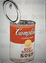 American school. Campbell's Soup. 1962. Houston, Menil collection.