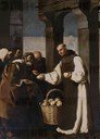 'The Mercy of Fra Martin de Vizcaya', 1639, Oil on canvas, 290 x 222 cm. FRANCISCO DE ZURBARAN . VIZCAYA FRAY MARTIN.