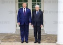 Trump Welcomes Mattarella of Italy to the White House