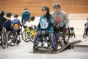 Wheelchair skating with David Lebuser