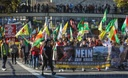 Demo against Turkish army attacks on Northern Syria