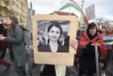 another protest against Turkish invasion of Syria held in Prague, Hevrin Khalaf