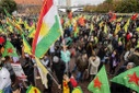 Kurds demonstrate in Berlin