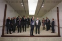Stoltenberg visits wall installation in the Bundestag