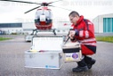 First helicopter for transport of blood preserves