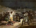'The Third of May 1808 in Madrid: The Executions on Principe Pio Hill', 1814, Oil on canvas, 268 cm x 347 cm, P00749.