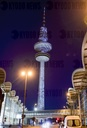 Illumination of the Hamburg TV Tower