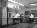 Men Working On Analog Computer
