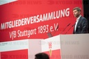 Extraordinary general meeting of the VfB Stuttgart