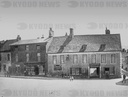 Faringdon Village and the Bell Inn as it known today.