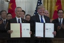 Signing of the Trade Agreement Between the U.S. and China