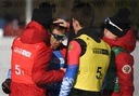 Switzerland Youth Olympic Games Biathlon Mixed Relay