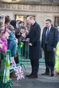 HRH William And Kate Visit Bradford