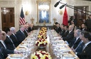 President Trump has lunch with the Vice Premier of China at the White House