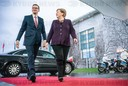 Chancellor Merkel meets Polish head of government