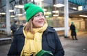 Election campaign with Hamburg's top Green candidate Fegebank