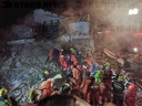 CHINA ZHEJIANG HOUSE GAS BLAST RESCUE