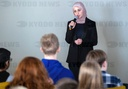 Syrian education activist visits the International School