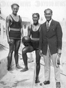 Sam, Dave and Duke Kahanamoku