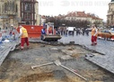 Building of Marian column replica starts in Prague centre