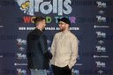 Justin Timberlake & Mark Forster at the Trolls World Tour Photocall