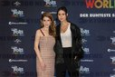 Anna Kendrick & Lena Meyer-Landrut at the Trolls World Tour Photocall