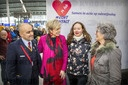 Princess Laurentien promotes real contact at Valentines Day