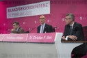 Annual press conference of Deutsche Telekom AG.