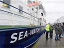 Christening of rescue ship Sea-Watch 4