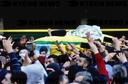 Hezbollah fighters funeral procession in Lebanon