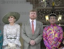 2nd of a 4 day state visit to Indonesia from King Willem-Alexander and Queen Maxima