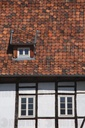 Half-timbered construction from eight centuries