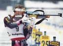 firo: February 1996 sport, winter sport world cup, world championship in Ruhpolding, Germany, biathlon world championship