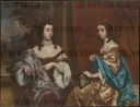 Mary Capel (1630-1715), Later Duchess of Beaufort, and Her Sister Elizabeth (1633-1678), Countess of Carnarvon.