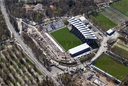 Aerial view of the Wildpark Stadium Karlsruhe