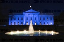 White House is Lit Blue for World Autism Awareness Day