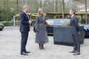 King Willem-Alexander and Queen Maxima visits the RIVM  Photo: Albert Nieboer / Netherlands OUT / Point de Vue OUT