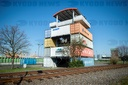 Container observation tower in Bremerhaven