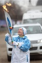 Sochi 2014 Paralympic torch relay. Moscow
