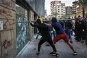 Protesters attack banks in northern Lebanon